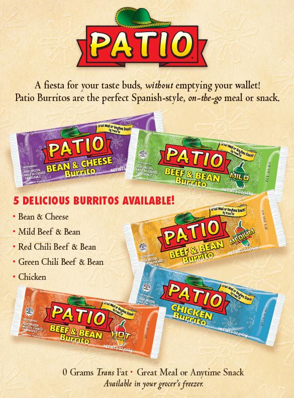 Patio Burritos.
