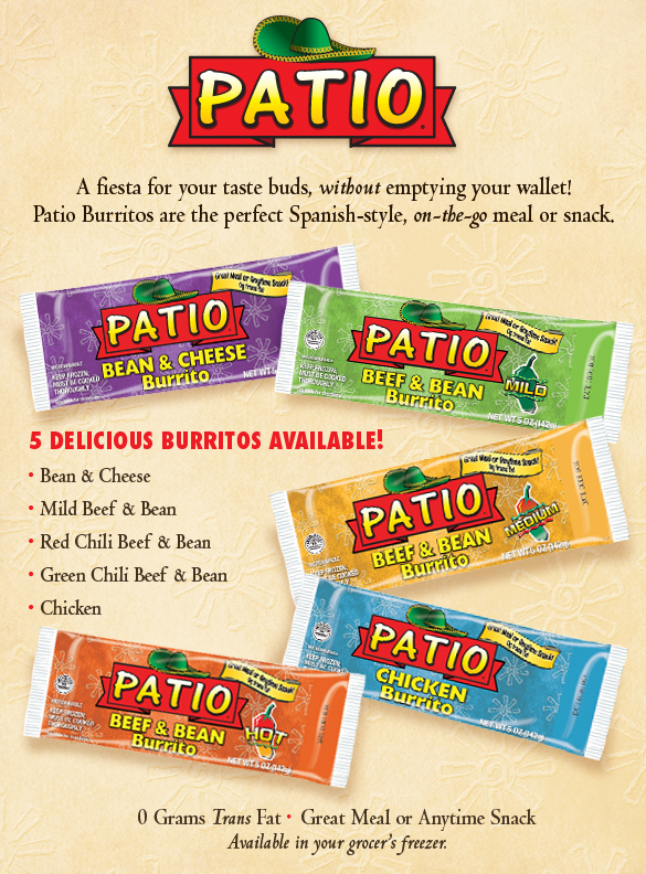 patio burritos