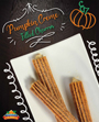 Pumpkin Creme Filled Churro- ELECTRONIC ONLY