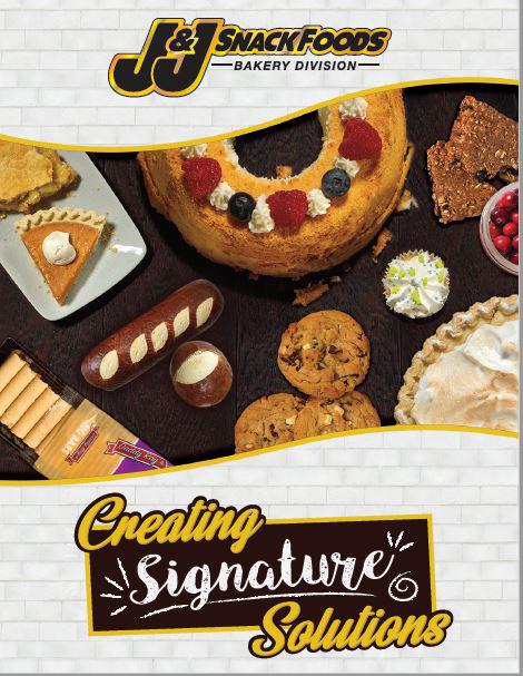 JJSF Bakery Division Brochure 2018