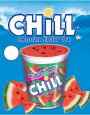 CHILL® SMOOTH FRUIT ICE- Watermelon- Price Sign