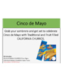 Cinco De Mayo Merchandising Kit