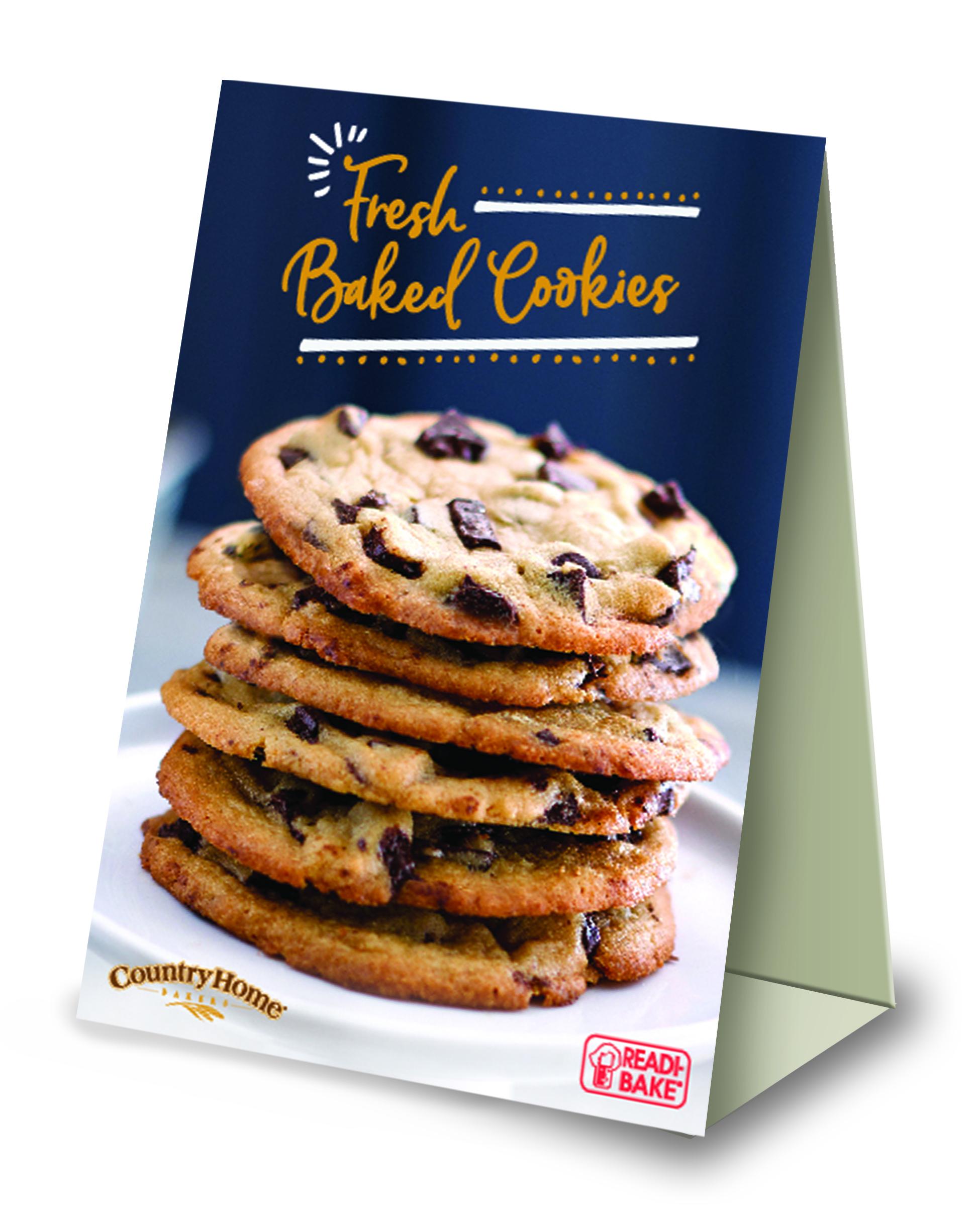 Readi-Bake/CHB Supreme Cookie Table Tents