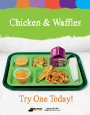 Chicken and Waffles 2 grain k-12