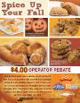 Fall Promotion Literature Sheet