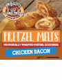K&S Pretzel Melt Chicken Bacon Decal 6 x 6 (limit 10/order)