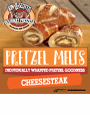 K&S Pretzel Melt Cheesesteak Decal 6 x 6 (limit 10/order)