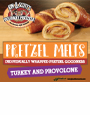 K&S Pretzel Melt Turkey Provolone Decal 6 x 6 (limit 10/order)