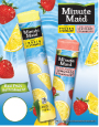 Minute Maid® Soft Frozen Lemonade Tubes Price Sign