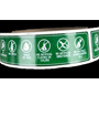 Allergen Stickers - 500ct per roll