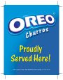 OREO® Churro 6x6 Door Sticker