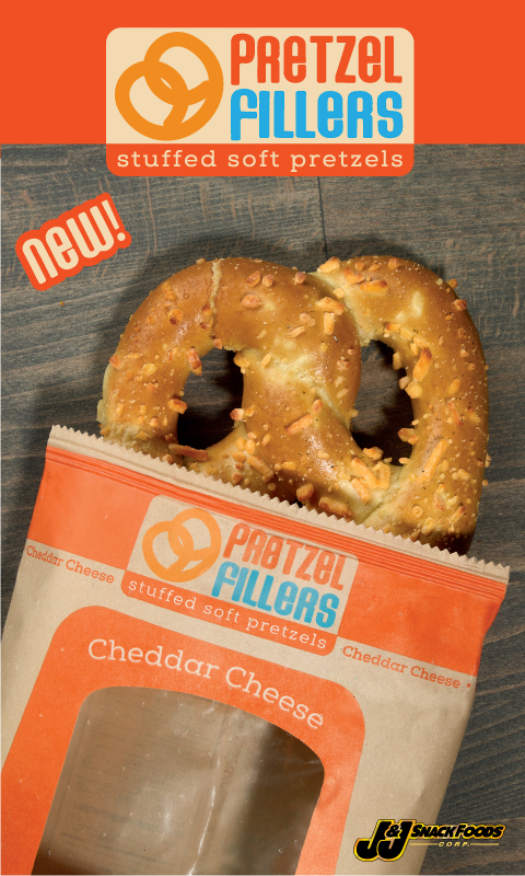 Pretzel Fillers I/W Cheddar Cheese 3x5 Cling