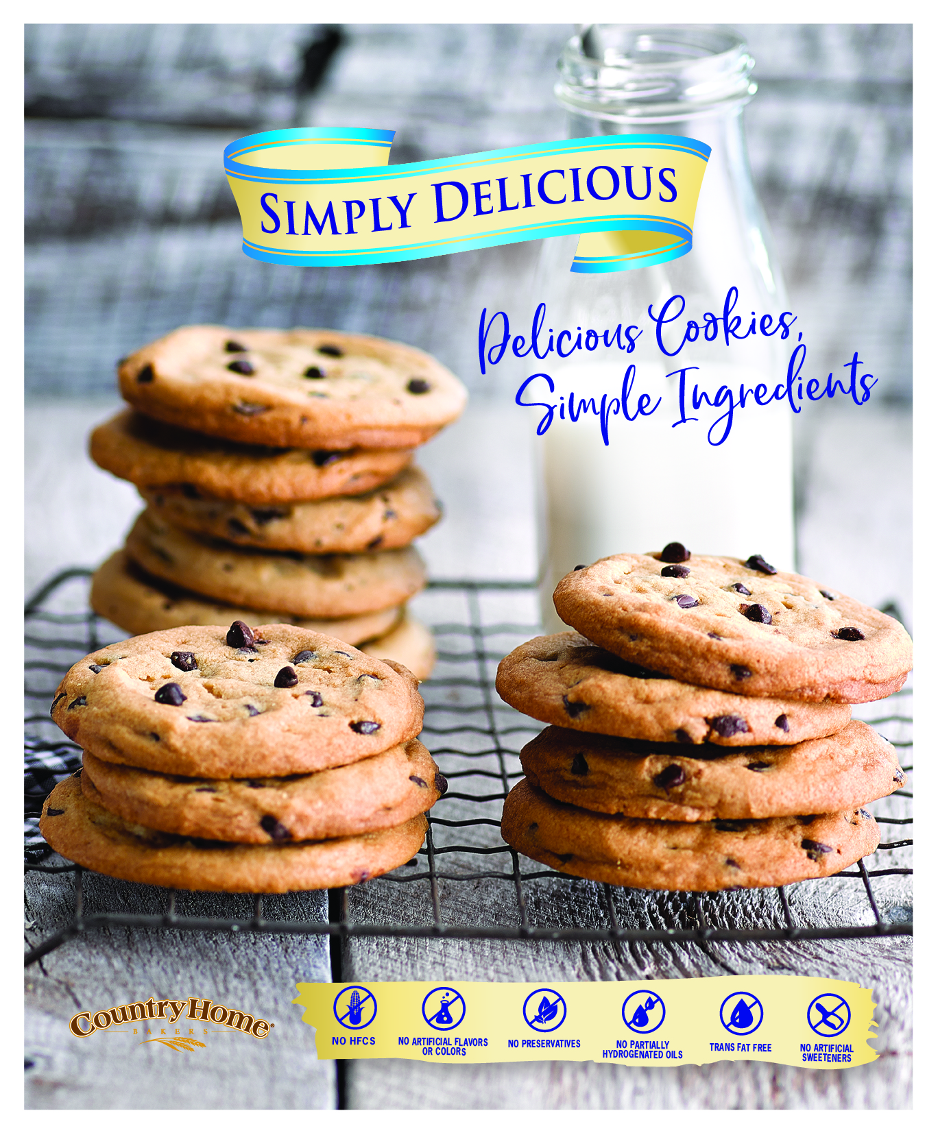 Simply Delicious Cookie Poster