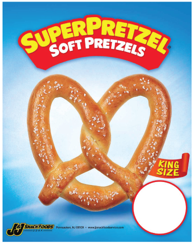 soft pretzels mustard soft pretzels from salty snacks baker s sign ...