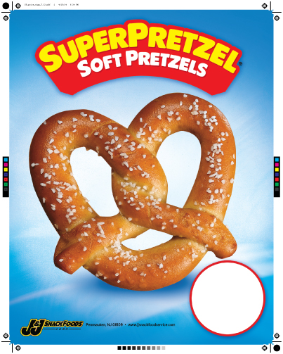 SUPERPRETZEL® Soft Pretzels Price Signs
