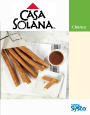 SYSCO Casa Solana Churros