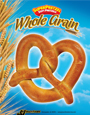 SUPERPRETZEL 51% Whole Grain Pretzel - Poster