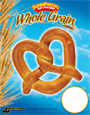 SUPERPRETZEL 51% Whole Grain Pretzel - Price Sign