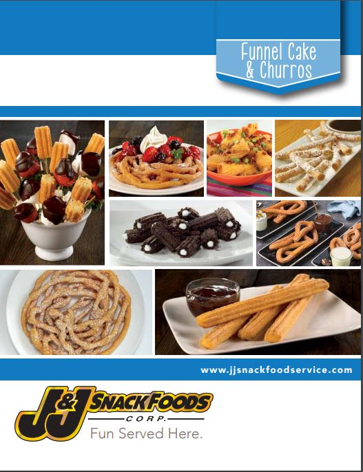 Funnel Cake and Churro Brochure- 2019